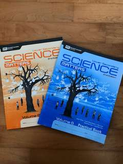 Lower Secondary Science Matters Practical Books