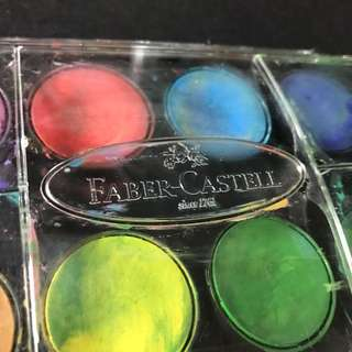 Fabercastell Watercolor Cake