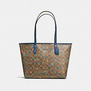 AUTHENTIC COACH COTY TOTE