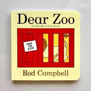 DEAR ZOO Board Book (A Lift-the-Flap Book)