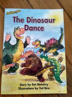 Reading Bee Storybook <The Dinosaur Dance>