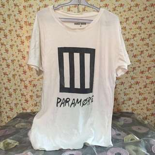 REPRICED Paramore Tee from Fudge Rock