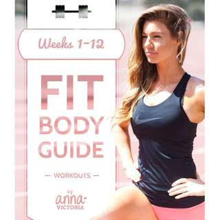 "Anna Victoria's Fit Body Guide ""FBG"" : Round 1 (Training)"