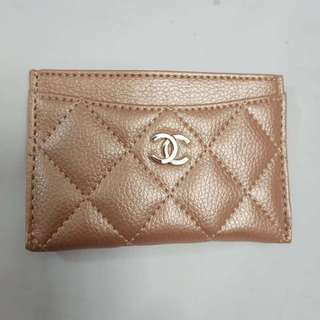 Chanel name card holder