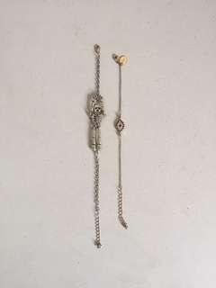 Bracelet skull and eye design