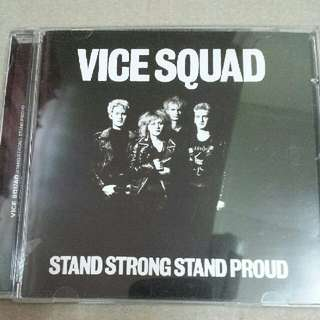 Music CD: Vice Squad ‎– Stand Strong Stand Proud - Classic UK Punk Band