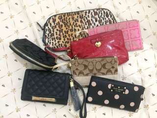 Authentic Wristlets & Pouches