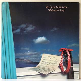 Willie Nelson – Without A Song (1983 USA Original - Vinyl is Mint)