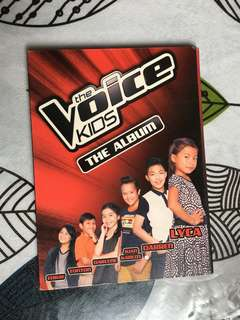 THE VOICE KIDS ALBUM JK SIGNED