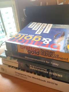 Textbooks for Poly & Uni