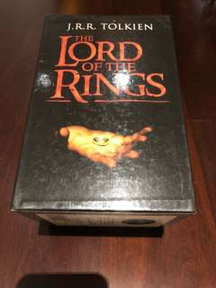 Lord Of The Rings Book Set - 7 Books