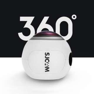 SJCAM SJ360 360 DEGREE PANORAMA WIFI ACTION SPORT CAMERA FISHEYE LENS 2K VR VIDEO RECORDING (WHITE)