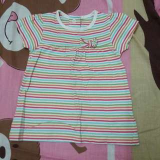 Mothercare rainbow line top