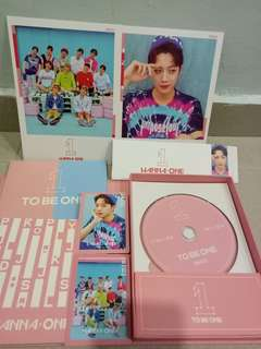 Wanna One To Be One LAI KUAN LIN full set