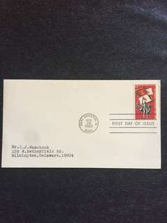 US 1965 Florida Settlement FDC stamp