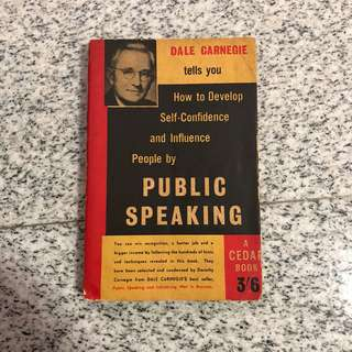 Public Speaking - Dale Carnegie