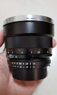 85mm f1.4 ZF.2 Nikon Mount