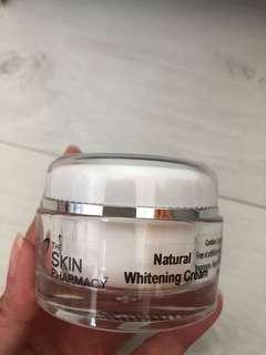 The skin pharmacy Natural whitening cream