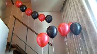 Helium Balloons Room Deco