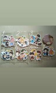 EXO Fanmade Stickers