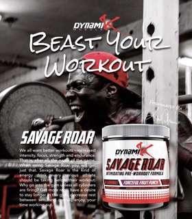 Dynamik Muscle - Savage Roar Extreme Preworkout
