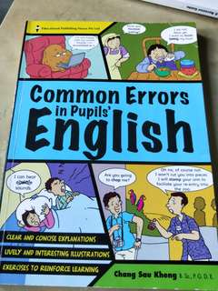 Common Errors in Pupil's English