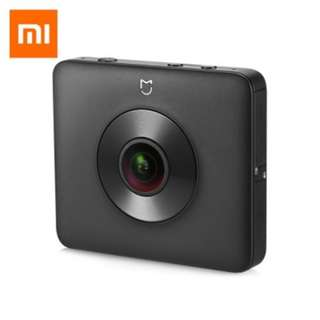 XIAOMI MIJIA 3.5K 360 DEGREE PANORAMA ACTION CAMERA AMBARELLA A12 CHIPSET (BLACK) DOMESTIC EDITION