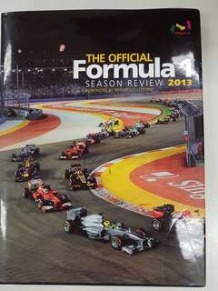F1 season review 2013 (hard cover)