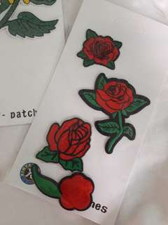 Iron patches