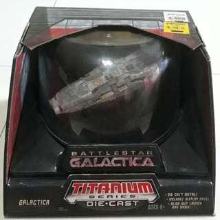 Battlestar Galactica Titi]anium Die Cast Series (Mint-in-a-box)