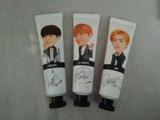 BTS Official Handcream