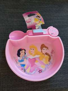 Brand new Disney Princess Bowl+ Spoon