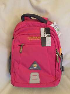 FX Creations Space Walker Pink Backpack Schoolbag