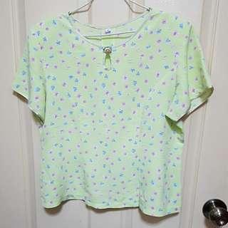 Fast deal $8 Mint Green Top