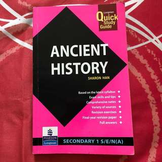 Ancient History Book Sec 1