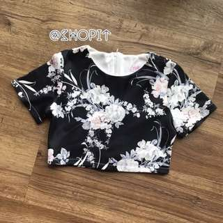 TheStageWalk Floral Crop Top | 1 for $6 2 for $10
