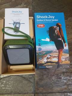 ShackJoy outdoor n Shower Speakee