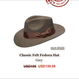 Tasteless Hat Co. Classic Felt Hat