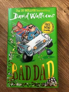 Bad Dad by David Walliams (hardcover)