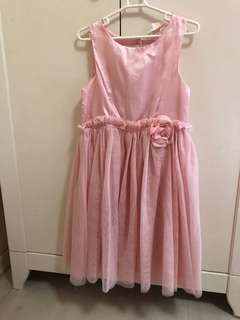 Pastel pink H&M party dress (6-7y)