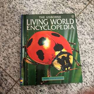 The Usborne Living World Encyclopedia