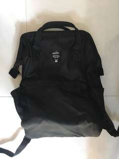 Authentic Anello black backpack