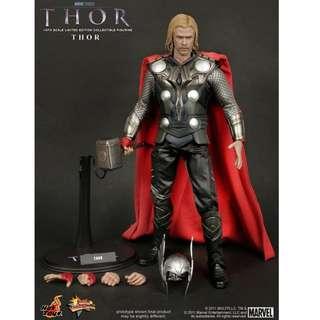全新末開封 HOTTOYS Hot toys MMS146 雷神 托爾 Thor 連紙袋