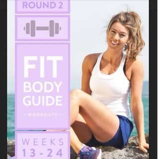 "Anna Victoria's Fit Body Guide ""FBG"" : Round 2 (Training)"