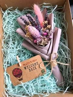 Dried Flower Bouquet / Lavender / Graduation Gift