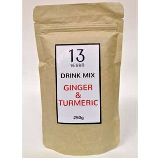 Ginger & Turmeric Drink Mix 250g