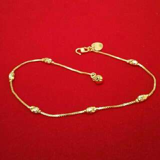 💎ANKLET 💎 High Quality Pure 24K Gold Plated