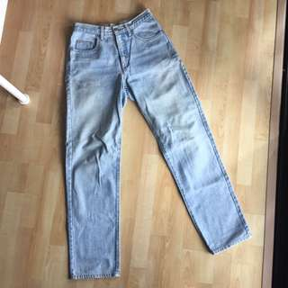 Vintage Guess High Waisted Skinny Jeans