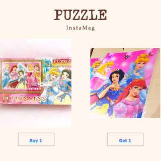 🎆【FREEGIFT】+ Disney Princess Puzzle #20under