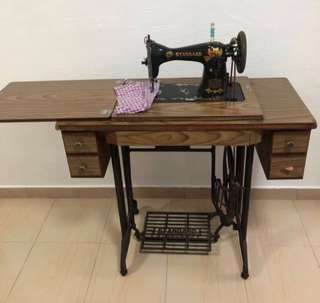 MUST GO Used Antique Standard Sewing Machine